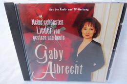 """CD """"Gaby Albrecht"""" Meine Schönsten Lieder Von Gestern Und Heute - Música & Instrumentos"""