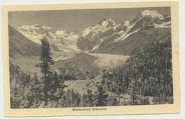 AK  Morteratsch Gletscher - GR Grisons