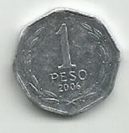 Chile 1 Peso 2006. - Chili