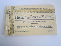 Carnet Cpa Mission Des Pères Du St Esprit  Oubangui Chari   Saint Paul Des Rapides 18_13 - Central African Republic