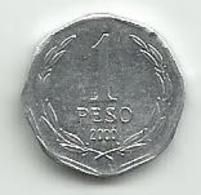 Chile 1 Peso 2000. - Chili