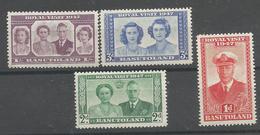 BASUTHOLAND 1947 ROYLITY FAMILY, 1 X 4v, MNH - Lesotho (1966-...)