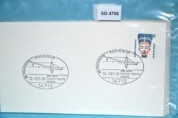 SD4788 200 Jahre Deutsche Optische Industrie, 14712 Rathenow DE 10.3.2001 - Machine Stamps (ATM)