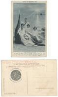 Red Cross Racc. Croce Rossa Italiana Cartolina 11nov1915 Compleanno Del RE Nuova - Croce Rossa
