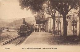 44 CP(SNCF Salins-les-B+St Raphaël+Paris Austerlitz Inond+ 2Photos+ 2Doc)Houblons+Fant+Humour+Brodée+Rouet+Bébés... N°80 - Cartes Postales