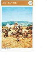 Indochine Dien Bien Phu Fiche Illustrée 11x 17cm  2 Scans TB Colonies Françaises - Histoire