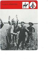 Indochine La Guerre Fiche Illustrée 12 X 16 Cm  2 Scans TB Colonies Françaises - Histoire