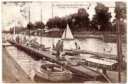 CALVADOS - Dépt N° 14 = OUISTREHAM  1927 = CPA  CAAP N° 17 = GROUPE DE YACHTS - Ouistreham