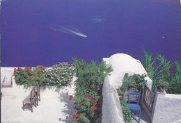 Greece PPC The Island Of Santorini Photo : Marmatakis Brothers RODOS 1999 OSLO Norway (2 Scans) - Grecia