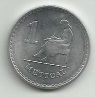 Mozambique 1 Metical 1986. - Mozambique