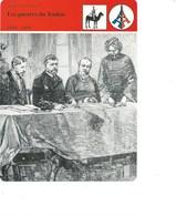 Indochine La Guerre Du Tonkin Traité De Hué Fiche Illustrée 12 X 16 Cm  2 Scans TB Colonies Françaises - Histoire