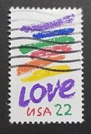 1985 Love, United States Of America, USA, Used - Etats-Unis