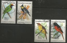 Thailand - 1980 Birds Used    Sc 912-5 - Thailand