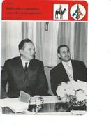 Indochine Difficultés Coloniales Entre Les Deux Guerres Fiche Illustrée 12 X 16 Cm  2 Scans TB Colonies Françaises - Histoire