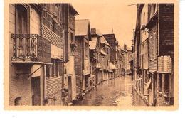 """Vieux Pont-Audemer (Eure)-La Risle Rue Thiers-Collection """"Le Duc, Tabacs- Pont Audemer"""" - Pont Audemer"""
