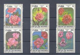 1985  Kuba  Mi-2943-2948  2. Mai Muttertag - Cuba