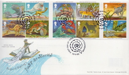 Great Britain Set On FDC - Fairy Tales, Popular Stories & Legends