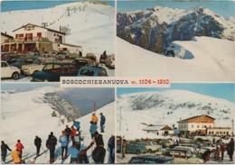Boscochiesanuova (Verona): 4 Vedutine. Scritta 1975 Non Viaggiata - Verona