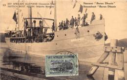 Tanzanie / Belle Oblitération - 20 - Steamer Baron Dhanis - Tanzanie