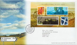 Great Britain SS On Used FDC - Other