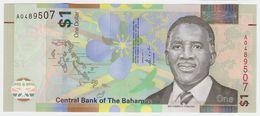 Bahamas P 77 - 1 Dollar 2017 - UNC - Bahamas