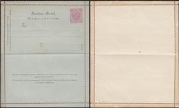 Austria 1888 - 5 Kr. Bosnia And Herzegovina, PS Letter Card, GA Kartenbrief MiNr. K 4. - Entiers Postaux