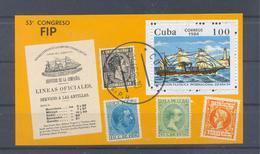 1984  Kuba  Mi-2855  27. April Internationale Briefmarkenausstellung Espana 1984  Block 82 - Blocs-feuillets
