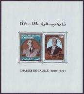 MAURITANIE - BL 9 ** - Cote 6,25 Euro (X 5) - Mauritanie (1960-...)