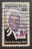 1986 Black Heritage, Sojourner Truth, United States Of America, USA, Used - Etats-Unis