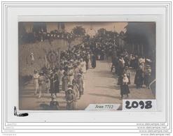 9719 AK/PC/CARTE PHOTO A IDENTIFIER/LA PROCESSION - Cartoline