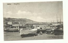 B021 - NAPOLI MERGELLINA PESCATORI ANIMATA  - 1920 CIRCA - Napoli
