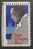 1986 Duke Ellington, United States Of America, USA, Used - Etats-Unis