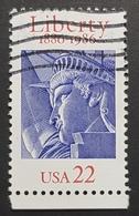 1986 Statue Of Liberty, United States Of America, USA, Used - Etats-Unis