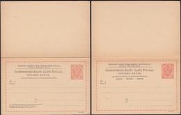 Austria 1891 - 10 + 10 H. Bosnia And Herzegovina, PS W. Reply Card, GA Correspondenz-Karte M. Antwort MiNr. P 12-II. - Postwaardestukken
