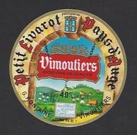 Etiquette De Fromage Petit Livarot  -  G. Fontaine De  Vimoutiers  (61) - Cheese