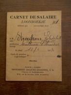 Oud Loonboekje  1931 HUMBEEK                    Impr. JACQUES GODENNE  S.  A. - 1900 – 1949