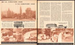 """"""" De La  CARAVANE 1920 à La CARAVANE 1950  """"    1950 - Camping"""