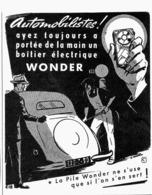 "PUB PILE  "" WONDER ""  1950 ( 3 ) - Advertising"