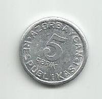 Azerbaijan 5 Qapik 1993. - Azerbaiyán