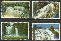Thailand - 1980 Waterfalls Used    Sc 918-21 - Thailand