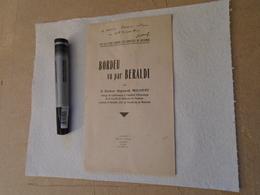 Pyrénées, Pyrénéisme, Béarn : BORDEU VU PAR BERALDI 1942 Dr RAYMOND MOLINERY - Midi-Pyrénées