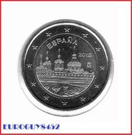 SPANJE - 2 € COM. 2013 UNC - KLOOSTER ESCORIAL - Spain