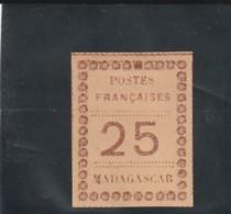 TIMBRE  DE 1891  N° 11 * - Madagaskar - Sainte-Marie (1894-1898)