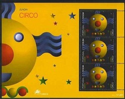 Cept 2002  Portugal Madeira Madère Yvertn° Bloc 25 *** MNH Le Cirque Circus - Madère