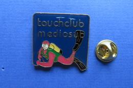 Pin's,plongée,diving,scuba, TOUCHCLUB MEDIOSUB - Diving