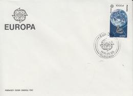 Enveloppe  FDC  1er  Jour   POLOGNE    EUROPA    1991 - 1991