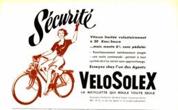 "PUB   "" VELOSOLEX ""   1951 ( 1 ) - Transports"