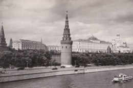 AL40 Moscow, View Of The Kremlin - RPPC - Russia