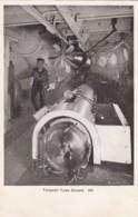AN72 Royal Navy Postcard - Torpedo Tube Closed - Warships