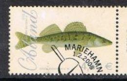Aland 2008 Fish €4.50 Good/fine Used [13/13799/6D] - Aland